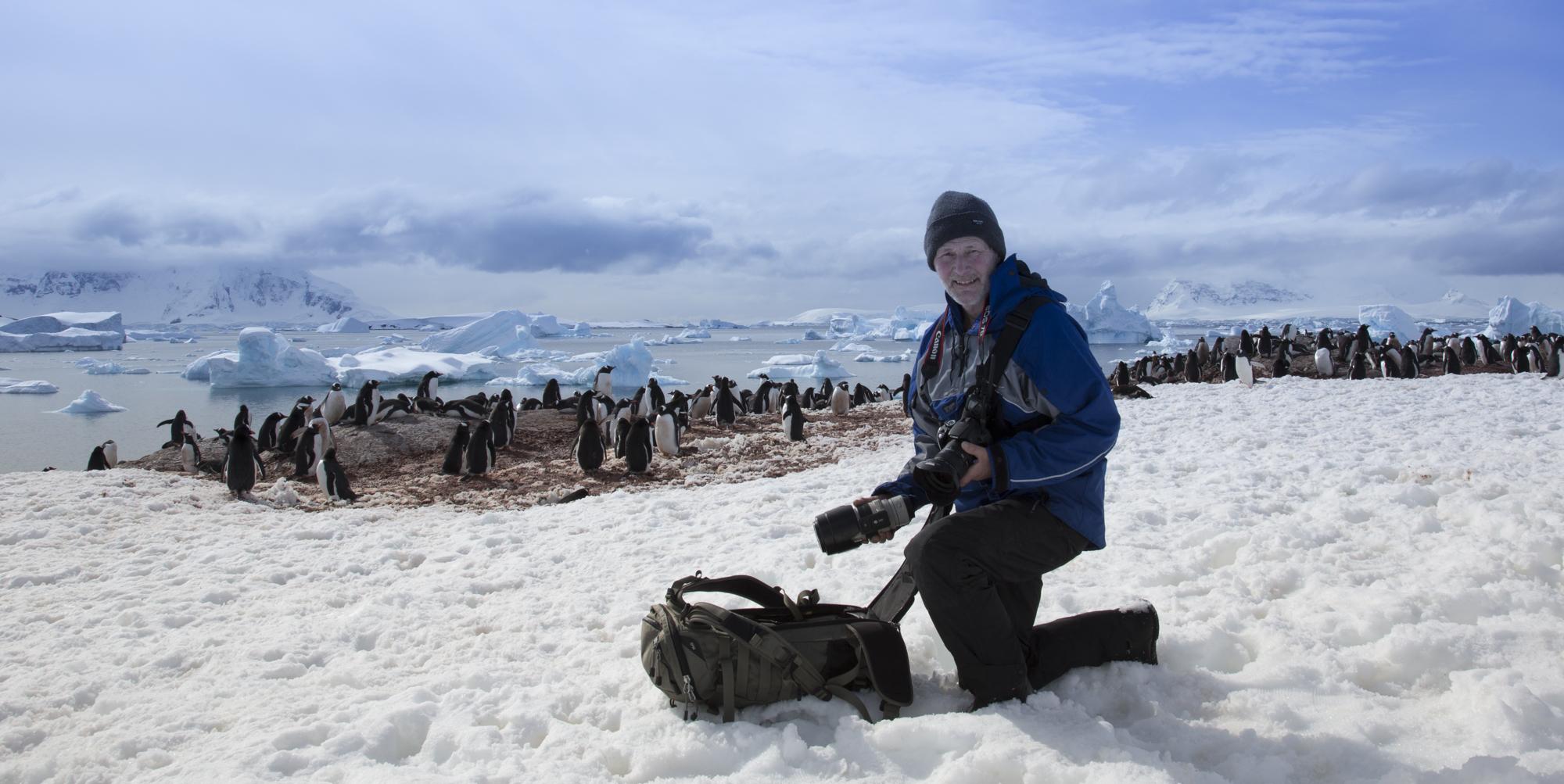 Ben In Antarctica