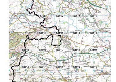 SVC Survey area map