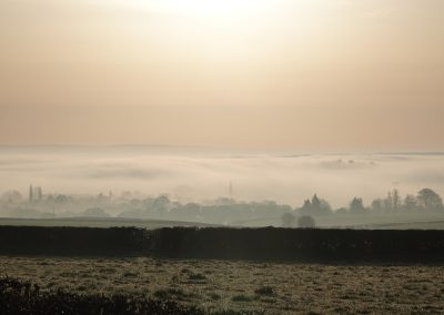 View Over Cleobury Mortimer - March 21